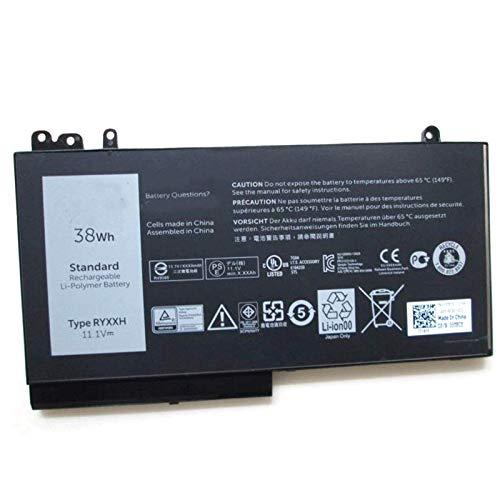 SUNNEAR Compatible Laptop Battery Replacement for Dell RYXXH (11.1V 38Wh) DELL Latitude 3150 3160 Latitude 12 (E5250) 14 (E5450) 15 (E5550) Series Notebook