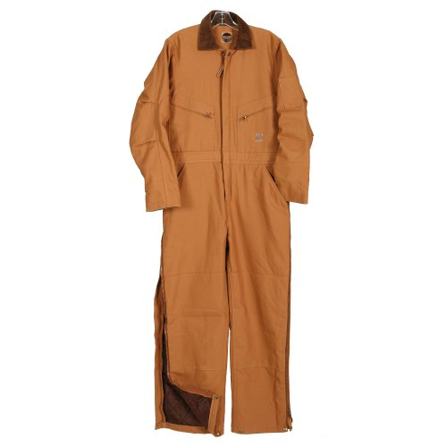 Five Rock Deluxe Insulated Coverall in Brown SM (Deluxe Insulated Coverall)