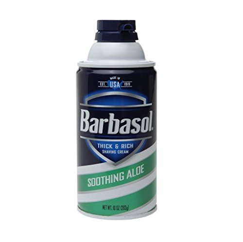 Barbasol Aloe Shave Cream, 10 oz - 2pc