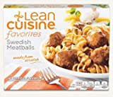 Nestle Stouffers Lean Cuisine Swedish Meatball, 9.13 Ounce -- 12 per case.