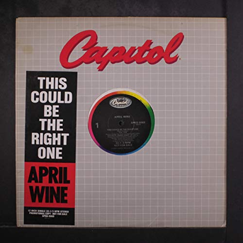 this could be the right one / same 12 (April Wine This Could Be The Right One)