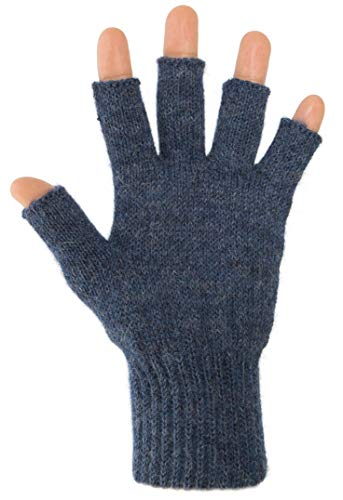 Alpaca Gloves - DARN WARM Alpaca GLOVES - Fingerless - BEST NATURAL SOLUTION for COLD HANDS