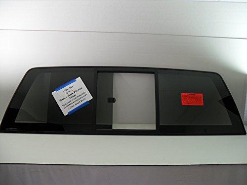 NAGD Fits 1999-2013 Chevrolet Silverado C/K 1500 2500 3500 Pickup Sliding Back Window Glass Rear Slider - Glass Window Back