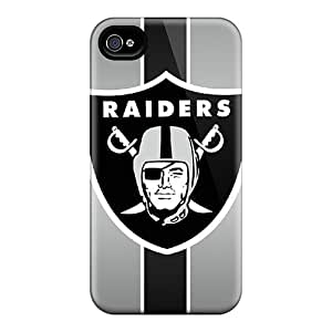 Fashionable SCV5071YGrl Iphone 4/4s Case Cover For Oakland Raiders Protective Case