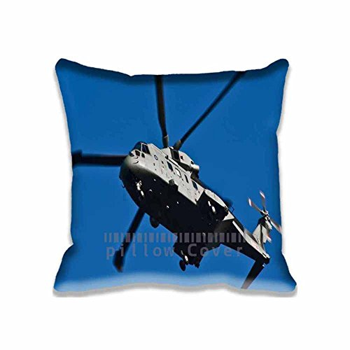 Price comparison product image Pillow Cases MI-5 Helicopter Unique Designs ,  Fashion Army Style Pillowcase Covers ,  Personalized Diy Cushion Cover for Home Office and Car