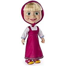 "Masha and the Bear - 12"" Giggle and Play Masha - Interactive Doll"