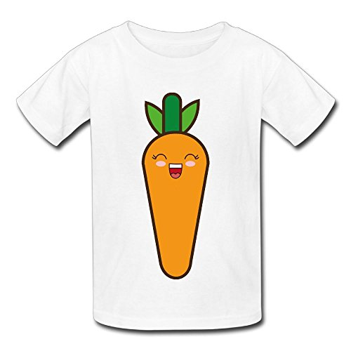 Hoeless Carrot KawaiiInfant Short Sleeve TshirtsCozy Shirt 18 Months (Halloween Carrot Cupcakes)