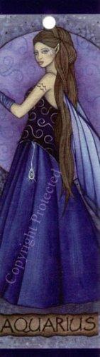 Jessica Galbreth Zodiac Sign Bookmark Fairy Faery Aquarius