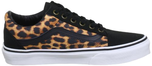 Vans U OLD SKOOL VSDI7LF Unisex-Erwachsene Sneaker Schwarz (Leopard) black