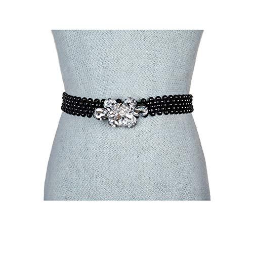 Beydodo Beaded Belts For Women For Jeans 25inch Belted Dress For Women 1 inch Wide BEYDODOPD2195