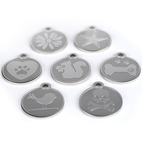 Playful-Custom-Engraved-Pet-ID-Tags-Solid-Stainless-Steel-Personalized-Dog-Cat-Pet-Identification-Durable-Long-Lasting-Pet-ID