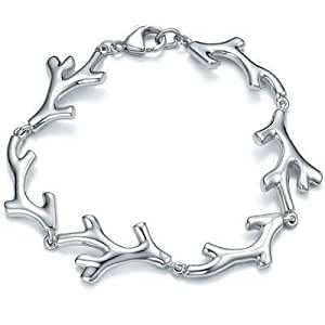 Tiffany And Co Bracelet Coral Link Silver 152