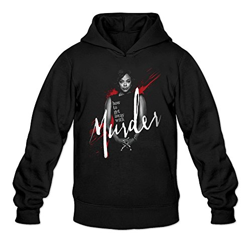 Men's How To Get Away With Murder Season 2 Poster Hoodie Black Small