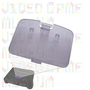 Atomic Purple Replacement Cover For Nintendo 64 System's Memory Expansion Pak Lid 0