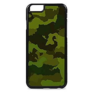 Case Fun Case Fun Dark Green Camouflage Snap-on Hard Back Case Cover for Apple iPhone 6 4.7 inch