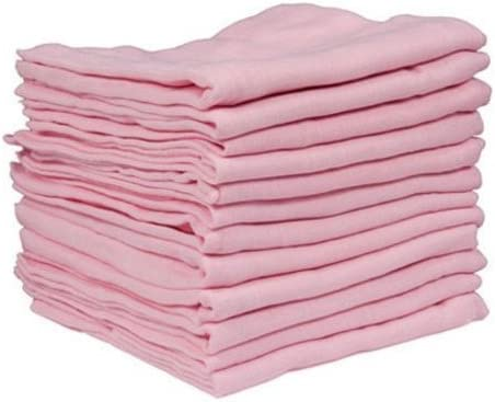 Cuadrados de Muselina para beb/é 6 Piezas 100/% algod/ón Dudu N Girlie 72 x 72 cm Color Azul