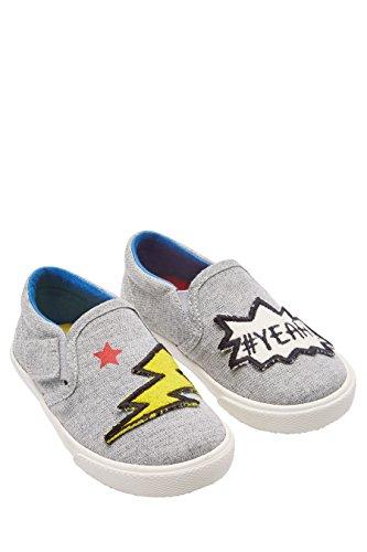 next Niños Zapatos sin cordones (Niño pequeño) Estándar Gris Indignia