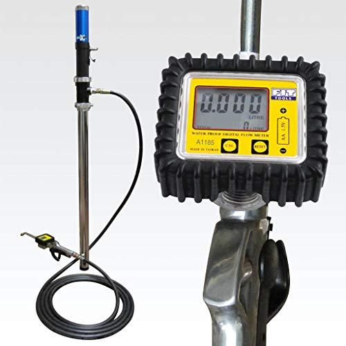 Ajuste Herramientas Pro Bomba de aire 50 Gallon/200 litros de aceite tambor dispensador con Digital medidor de flujo aceite pistola fabricado en Taiwán: ...