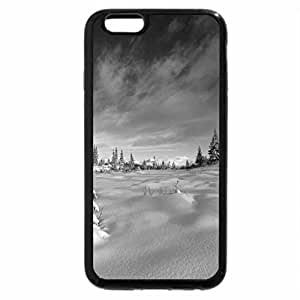 iPhone 6S Case, iPhone 6 Case (Black & White) - Winter Day