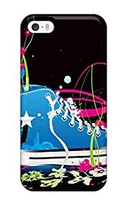 New Style Anti-scratch And Shatterproof Colorful Vector Shoe Hd Phone Case For Iphone 5/5s/ High Quality Tpu Case
