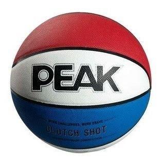 PEAK Ballon Basket Tricolore T6: Amazon.es: Deportes y aire libre