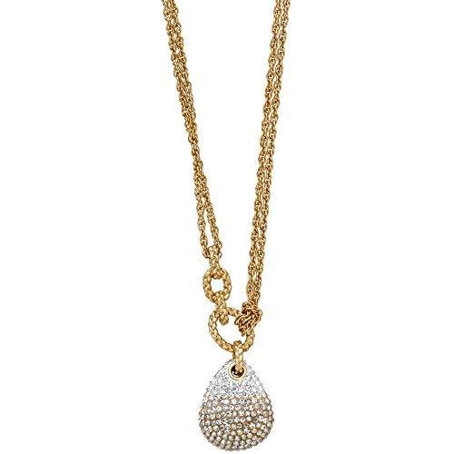 Necklace Swarovski Pave (Swarovski Definite 5169002 Gradient Crystal Pave Pendant Gold-Plated Necklace)