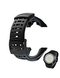 Welcomeuni fashion Replacement Rubber Watch Band Strap For Suunto Ambit 3 Peak / Ambit 2