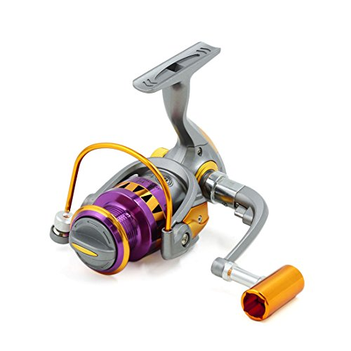 uxcell 13BB 5.5:1 Spinning Fish Reels Freshwater Saltwater Left/Right HB2000