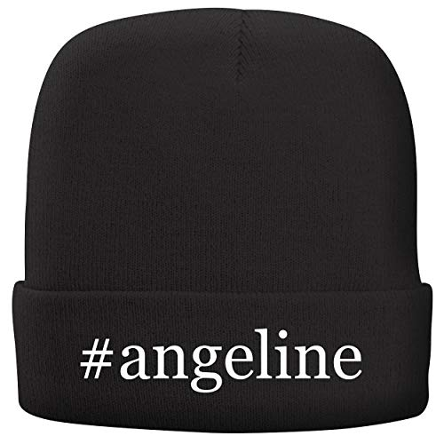 BH Cool Designs #Angeline - Adult Hashtag Comfortable Fleece Lined Beanie, Black