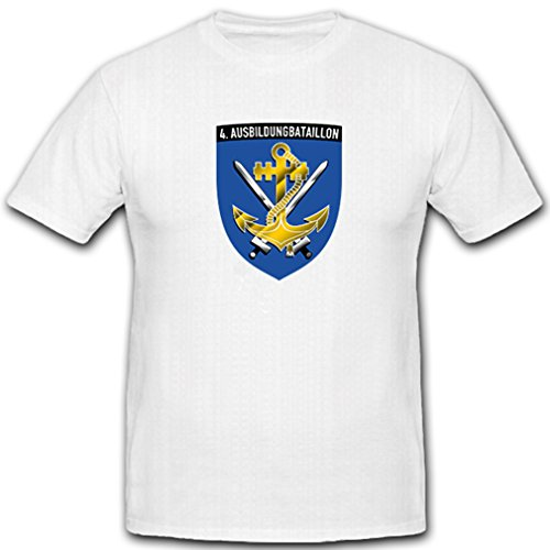 ALFASHIRT 4 Marines Training Battalion German Naval Sailor Coat of arms Badge ()
