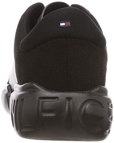 da Hilfiger Ginnastica Scarpe Wmn Tommy Black Sneaker Donna Basse Nero 990 Lightweight Hilfiger 6xqnUUEY