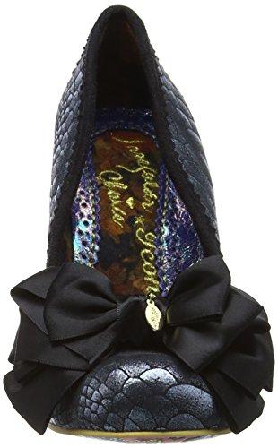 Irregular Choice Ascot - Tacones Mujer Negro (Black Glitter)