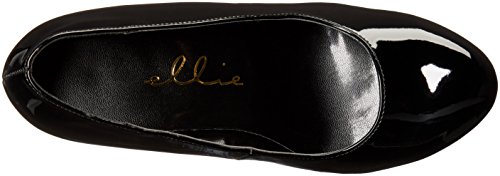 Ellie Chaussures Femme 521-femme-w Robe Pompe Noir