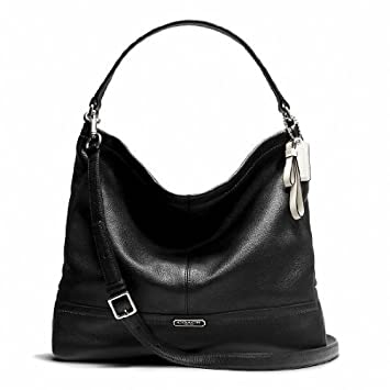 ... shoulder bag 3b685 616f8  shop coach park leather hobo style f23293 sv  black ca74f 77a67 b7724376790e4