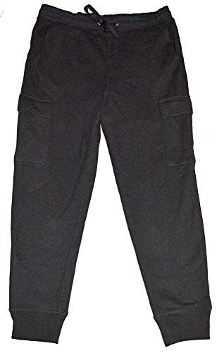- GAP Mens Black Knit Elastic Waist Pull-On Cargo Pants Large