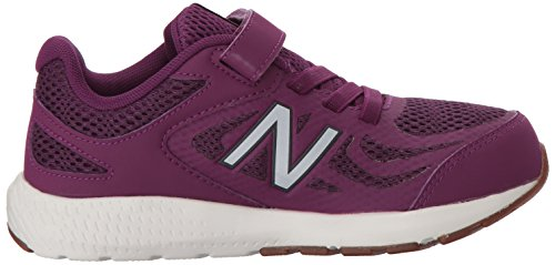 New Balance Girls' 519v1 Hook and Loop Running Shoe, Imperial/Phantom, 2 M US Infant by New Balance (Image #6)