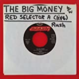 RUSH Big Money b/w Red Selector A 45 rpm 7