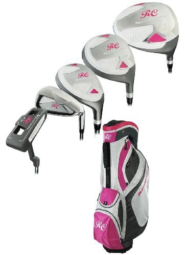 Ray Cook Golf Women's Silver Ray Complete Set with Bag, Right, Ladies by Ray Cook