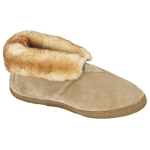 Old Friend Men's Fleece Lined Bootie Slippers