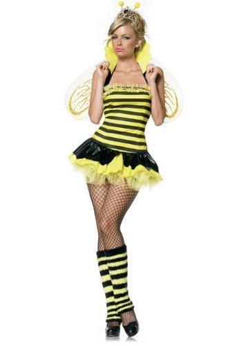 Queen Bee Costumes Women (Leg Avenue Women's Queen Bee Costume, Yellow/Black, X-Small)