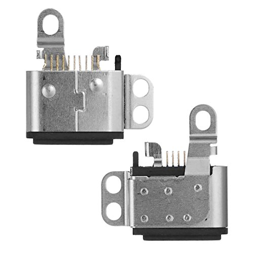 (BisLinks Black Dock Charging Port Connector Replacement for iPod Nano 7th Gen Generation)