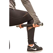 """Best Rated Premium Muscle Roller Massage Stick (18"""") - The Perfect Tool for Sore and Tight Muscles, Relieving Muscle Pain/Soreness, Exercise and Sports Performance, and Increased Flexibility"""