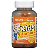 Cheap Mason Vitamins Healthy Kids Vitamin C with Rose Hips Kosher Gummies, 60 Count
