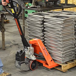 PowerPallet 2000 Mounted Kit: 3,500 pound rated 27'' x 48'' electric pallet jack by PowerPallet (Image #3)