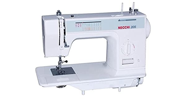 Necchi N205 – Máquina de coser mecánica: Amazon.es: Hogar