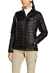 Womans Nano Puff Jacket Black 84217 Patagonia (s)