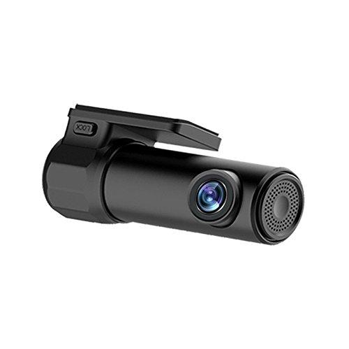 Tráfico grabadora, multifuncional HD1080P WiFi integrado Super visión nocturna coche cámara grabadora de vídeo sistema de...