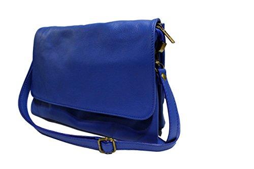 Loulo Petit Coloris Roi pochette Cuir Chloly Plusieurs Pochette pochette Souple Femme Bleu Loulou Loulou Sac Italie YqHdqw7