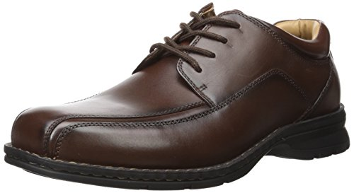 Uomo Dockers trtee espresso larga pelle scarpe stringhe
