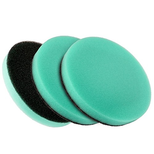 HQRP Pack of 3 Washable Foam Filter for LG Kompressor for sale  Delivered anywhere in USA